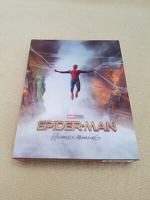 Spider-man Homecoming Blufans OAB Blu-ray 2D/4K (steelbook + magnet only)