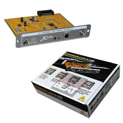 Behringer 32-Channel USB 2.0 Audio Interface Expansion Card for X32 Mixer #X-USB
