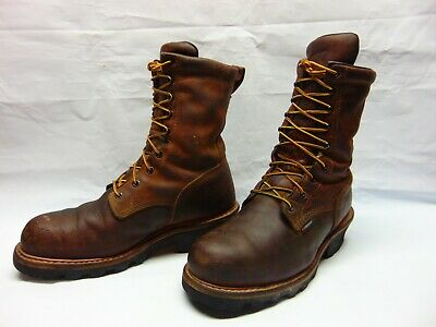 36c0299b425 RED WING SHOES 4417 LOGGER BOOTS STEEL TOE SZ 10 VERY NICE / ROBUST ...