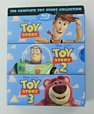 The Complete Toy Story Collection [Blu-ray][Region Free]