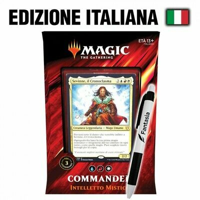 Intelletto Mistico - MTG Commander 2019 (IT) + Penna Fantàsia!