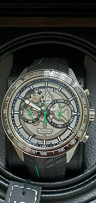 46mm Rs Graham Racing Watch Chronograph Silverstone Automatic Men's Aqc5R4j3L
