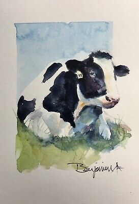 "Original Nova Scotia Watercolor Art, ""38"",  Not A print!"