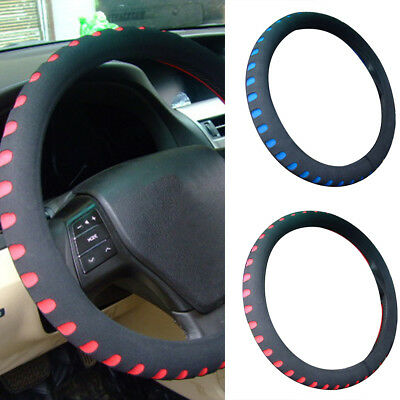 Ee_ 38Cm Eva Foam Steering Wheel Cover/Glove Soft/Padded Car/Van Universal Fit F
