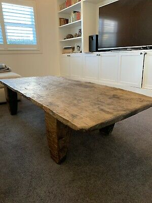 Antique Nagaland Bed Coffee Table