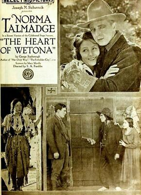 "DVD The Heart Of Wetona"" (Sidney Franklin,1919) Norma Talmadge, Thomas Meighan"