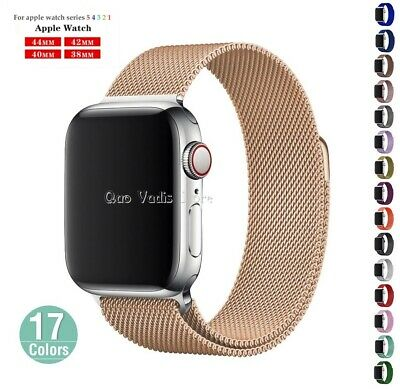 Correa Pulsera Milanese Loop De Metal Para Apple Watch 1/2/3/4 / 38-40-42-44