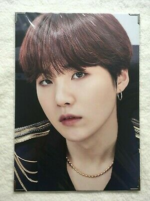BTS Speak Yourself Japan Suga Premium Photo with Flaws Official Merchandise