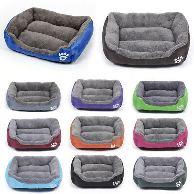 Puppy Pet Cat Dog Nest Bed Puppy Soft Warm Cave House Sleeping Mat Pad Supply