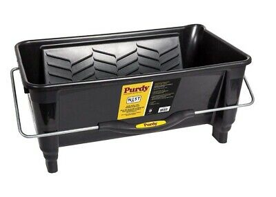 """Purdy Dual Paint Roll Off Bucket Scuttle Spray Tub - 19 Litre Up To 18"""" Rollers"""