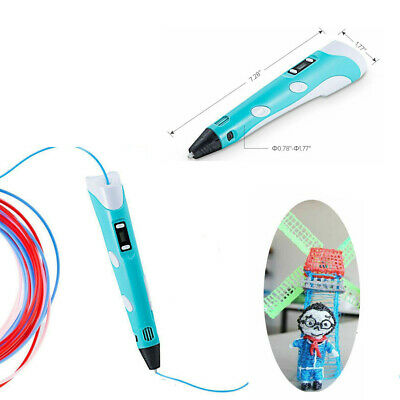 3D Stereoscopic Doodler Printing Drawing Pen LCD Art Design Tool Great Gifts