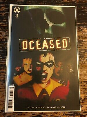 Dceased #4 Variant (DC) Free Combine Shipping