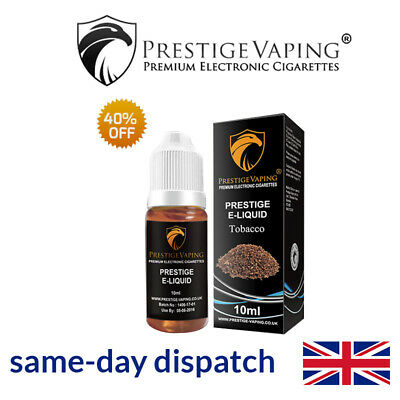 Prestige Vaping 40% Off Selected 10ML E-Liquid Flavours