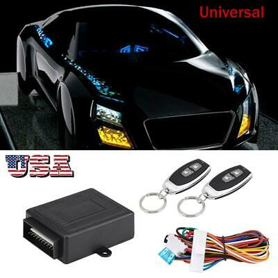 UNIVERSAL CAR DOOR Lock Keyless Entry System Auto Remote