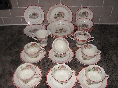 Crooksville China Pottery  Made In USA