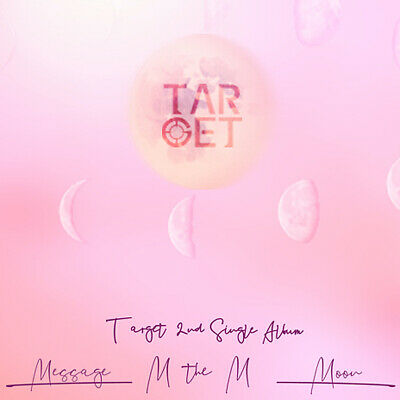 TARGET [M THE M] 2nd Single Album CD+POSTER+Photo Book+2p Card+Post Card+Sticker