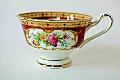 Royal Albert Lady Hamilton Tea Cup Only - Avon Shape - Replacements