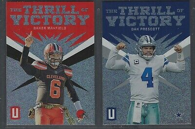 2019 Panini Unparalleled THE THRILL OF VICTORY Complete Your Set - You Pick!