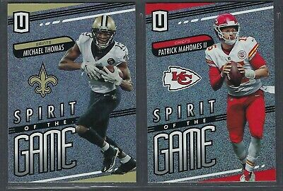 2019 Panini Unparalleled SPIRIT OF THE GAME Insert Complete Your Set - You Pick!