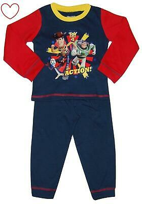 Boys Disney Toy Story 4 Pyjamas Woody Buzz Lightyear Forky Pj Set