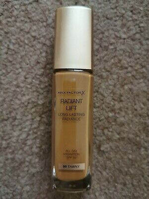 Max factor radiant lift foundation All Day Hydration Spf30 Shade 95 Tawny