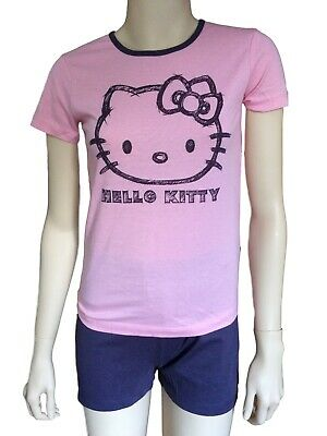 Bnwt Girls Pyjamas Set Hello Kitty Size 8 Years
