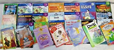 RANDOM 10 Books LEVELS 3 4 Beginning Early Chapter 7-10 yrs Grades 2 & 3