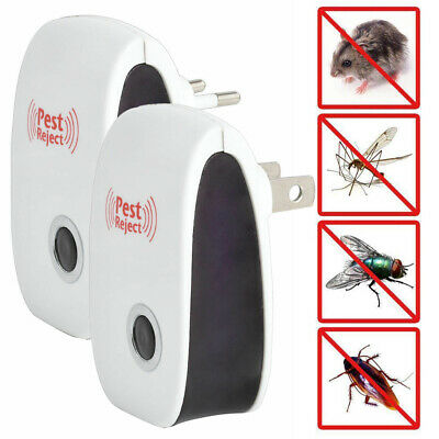 10X PEST REPELLER Reject Ultrasonic Electronic Mouse Rat