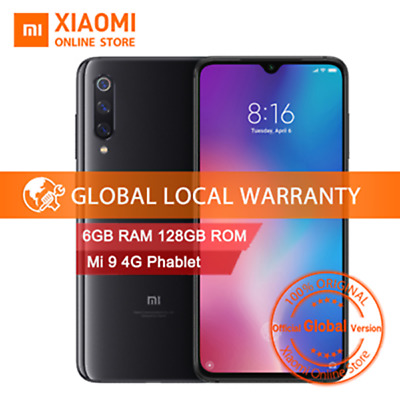"Xiaomi Mi 9 6GB+128GB 6.39"" Snapdragon 855 3200mAh Global 4G Móvil 48.0MP 8*Core"