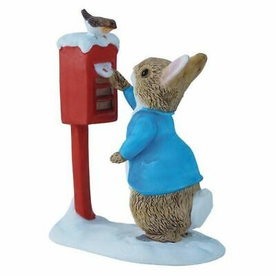 Beatrix Potter Miniature Figurine - Peter Rabbit Posting a Letter - 8cm A3486