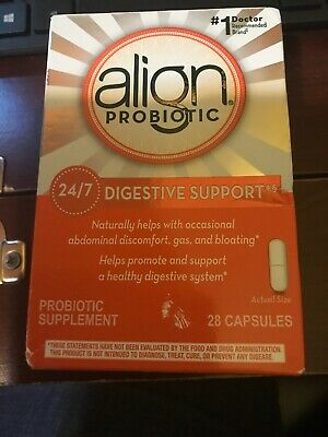 Align Probiotic Supplement 24/7 Digestive Support, 28 Capsules, EXP 11/21