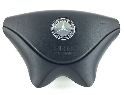 Mercedes Benz SLK SL Class R170 R129 drivers steering wheel airbag.    6C