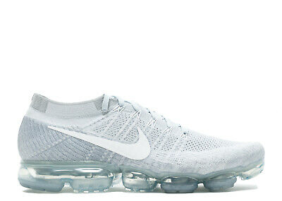 Nike Air Vapormax Flyknit Pure Platinum 849558-004 Size 9.5