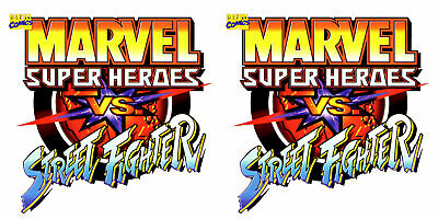 Marvel Vs Street Fighter  Arcade Bartop Cabinet Graphics For Reproduction