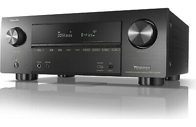 Denon AVR-X3500H 7.2-Channel 4K Ultra HD AV Receiver with HEOS, Atmos and Alexa