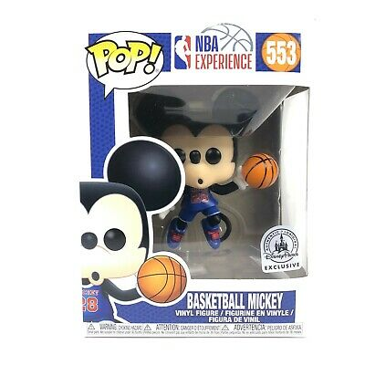 Funko Pop! Disney Parks Basketball Mickey NBA Experience