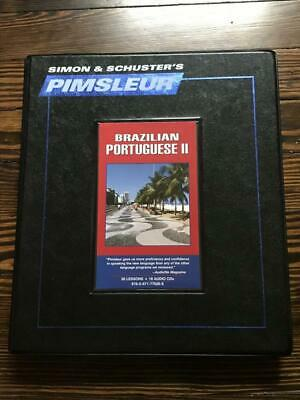 Pimsleur Portuguese (Brazilian) Level 2 CD: Learn to Speak and Understand Braz..