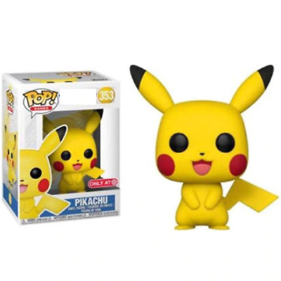 FUNKO POP Anime Cartoon Cute Pikachu Vinyl Action Figures Collection Model toys