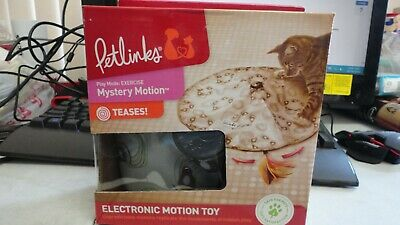 Petlinks Electronic Motion Cat Toy Mystery Motion