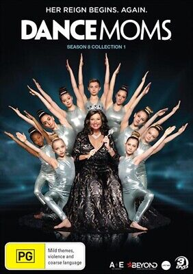 DANCE MOMS RESURRECTION - SEASON 8 part 1   DVD - UK Compatible