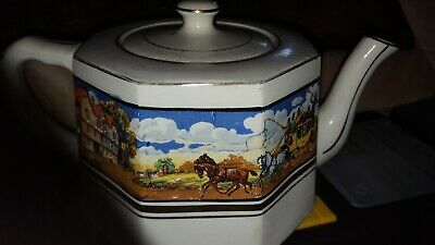 Rare Vintage Teapot,Gibsons,Lovely Design/Motive