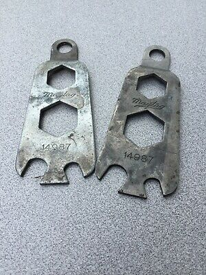 Lot of 2 Vintage Antique Maytag Hit Miss Engine Wrenches Tool RARE! FREE SHIP!!!