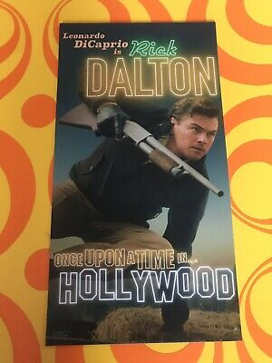 Once Upon A Time In Hollywood 1X CARD-ODEON-Rick Dalton-Quentin Tarantino 2019