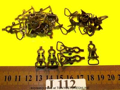 j112 jouef ho new spares 20x metal couplings & harnesses suits many apps