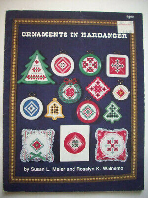 Ornaments Christmas  Hardanger Embroidery  pattern booklet