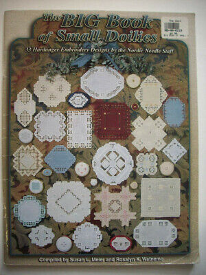 Big book of small doilies  Hardanger Embroidery  pattern booklet