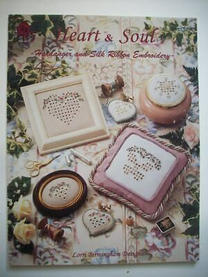 Heart & Soul Ribbon embroidery &  Hardanger Embroidery  pattern booklet