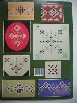 An Introduction  Hardanger Embroidery pattern booklet