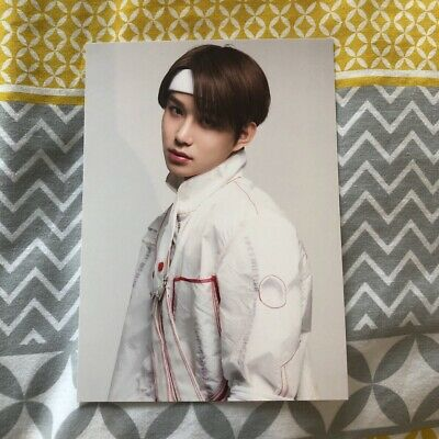 NCT 127 neo city jungwoo official postcard