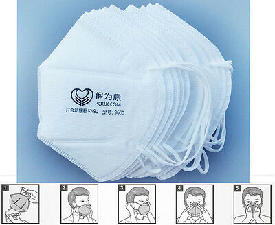 10pcs Breathe Healthy Dust Mask Filter Mask by For Dust, Pollen & Allergy Relief